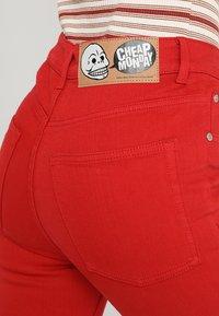 Cheap Monday - HIGH SKIN - Pantaloni - fiction red - 5
