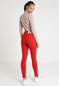 Cheap Monday - HIGH SKIN - Pantaloni - fiction red - 2