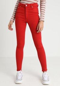 Cheap Monday - HIGH SKIN - Pantaloni - fiction red - 0
