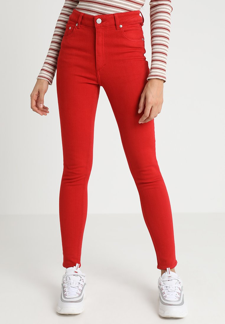 Cheap Monday - HIGH SKIN - Stoffhose - fiction red