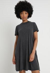Cheap Monday - Vestito di maglina - dark grey - 0