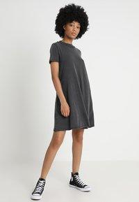Cheap Monday - Vestito di maglina - dark grey - 1