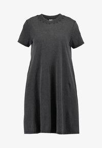 Cheap Monday - Vestito di maglina - dark grey - 4