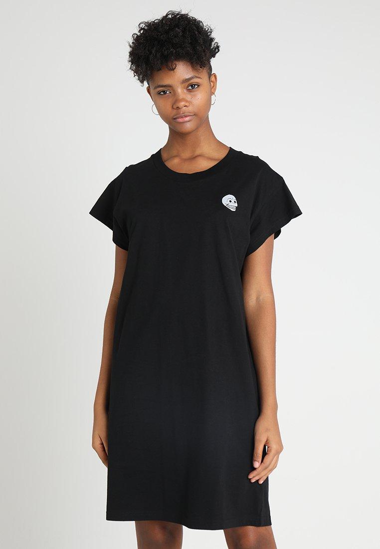 Cheap Monday - MEDIA DRESS TINY SKULL - Jerseykleid - black