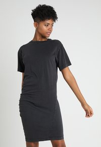 Cheap Monday - BLEAK DRESS - Vestito di maglina - black - 0