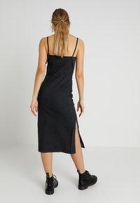 Cheap Monday - TRICK DRESS - Vestito lungo - black - 2