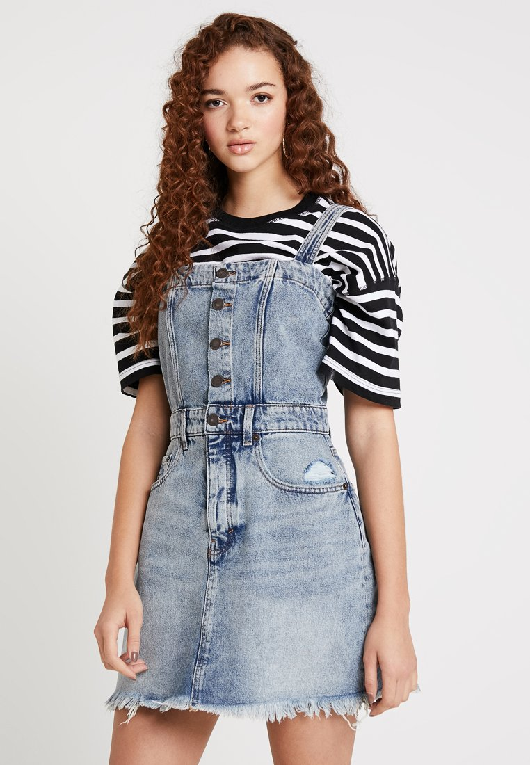 Cheap Monday - POTION DRESS - Vestito di jeans - hex blue