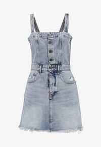 Cheap Monday - POTION DRESS - Vestito di jeans - hex blue - 4