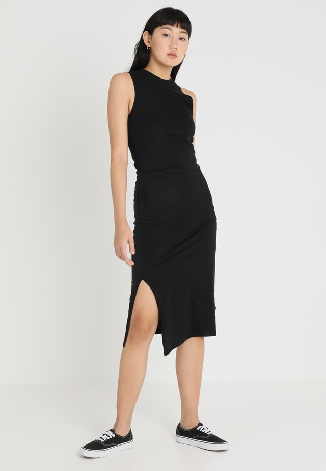 YELL DRESS - Etui-jurk - black