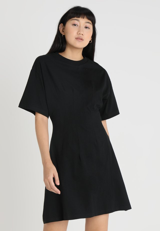 CONJURED DRESS - Jerseyklänning - black