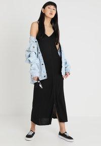 Cheap Monday - FREEDOM DRESS - Vestito lungo - black - 1