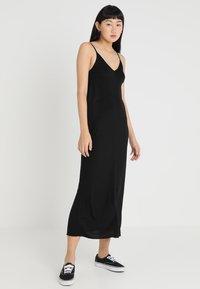 Cheap Monday - FREEDOM DRESS - Vestito lungo - black - 0