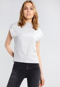 Cheap Monday - DIG  - T-shirt basic - mottled grey - 0