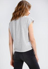 Cheap Monday - DIG  - T-shirt basic - mottled grey - 2