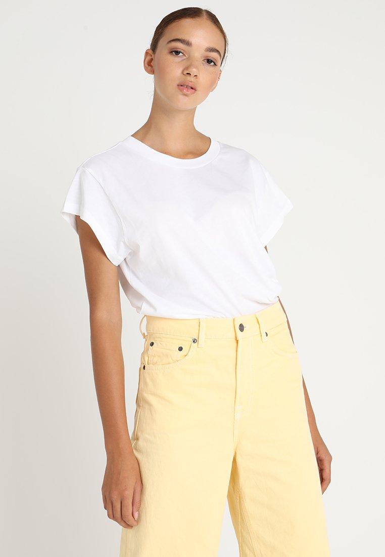 Cheap Monday - SCREEN - T-shirts - white