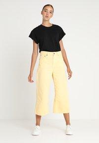 Cheap Monday - SCREEN - T-shirt basic - black - 1