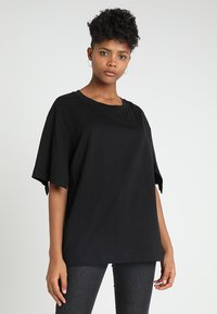 Cheap Monday - UP SLICE TEE - T-shirt con stampa - black - 0