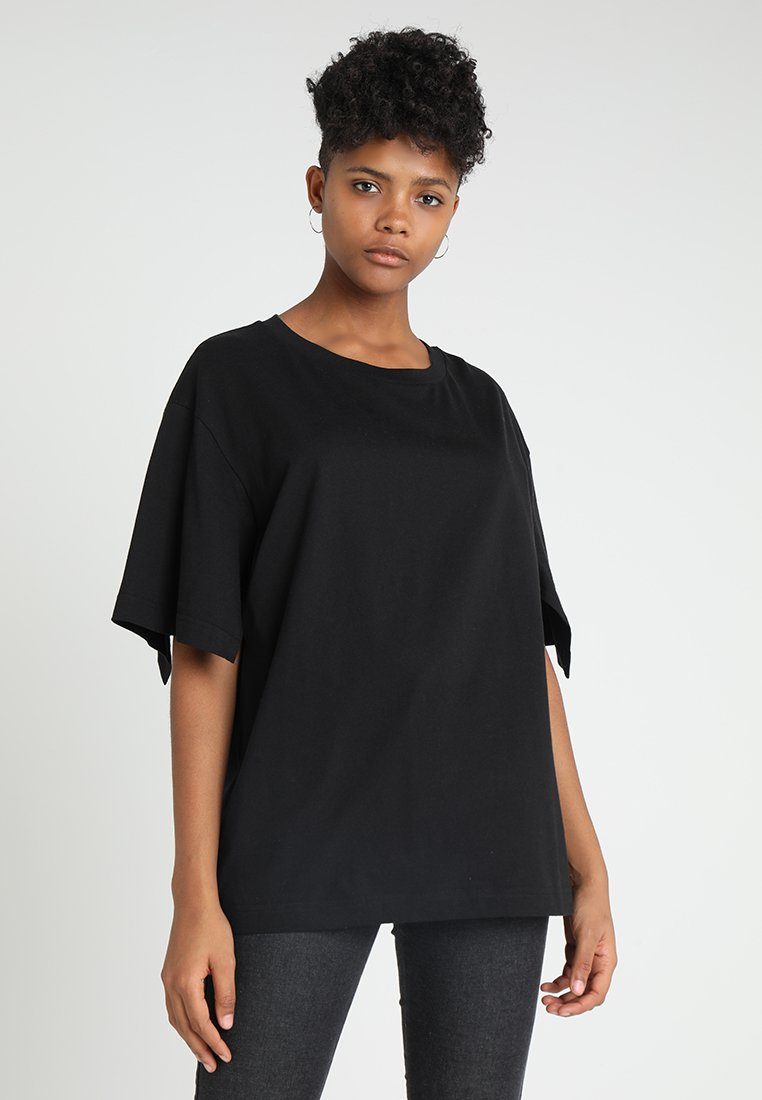 Cheap Monday - UP SLICE TEE - T-shirt con stampa - black