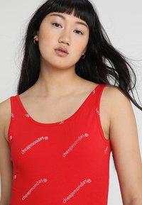 Cheap Monday - DIP BODYSUIT WEB LOGO - Top - scarlet red - 3