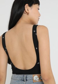 Cheap Monday - DIP BODYSUIT WEB LOGO - Top - black - 3