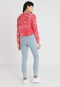 Cheap Monday - BESIDE WASH TEE - Maglietta a manica lunga - red