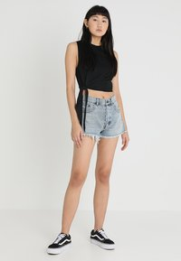 Cheap Monday - CURLE TANK - Toppi - black - 1