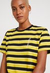 Cheap Monday - STANDARD STRIPE TEE - Print T-shirt - solaryellow