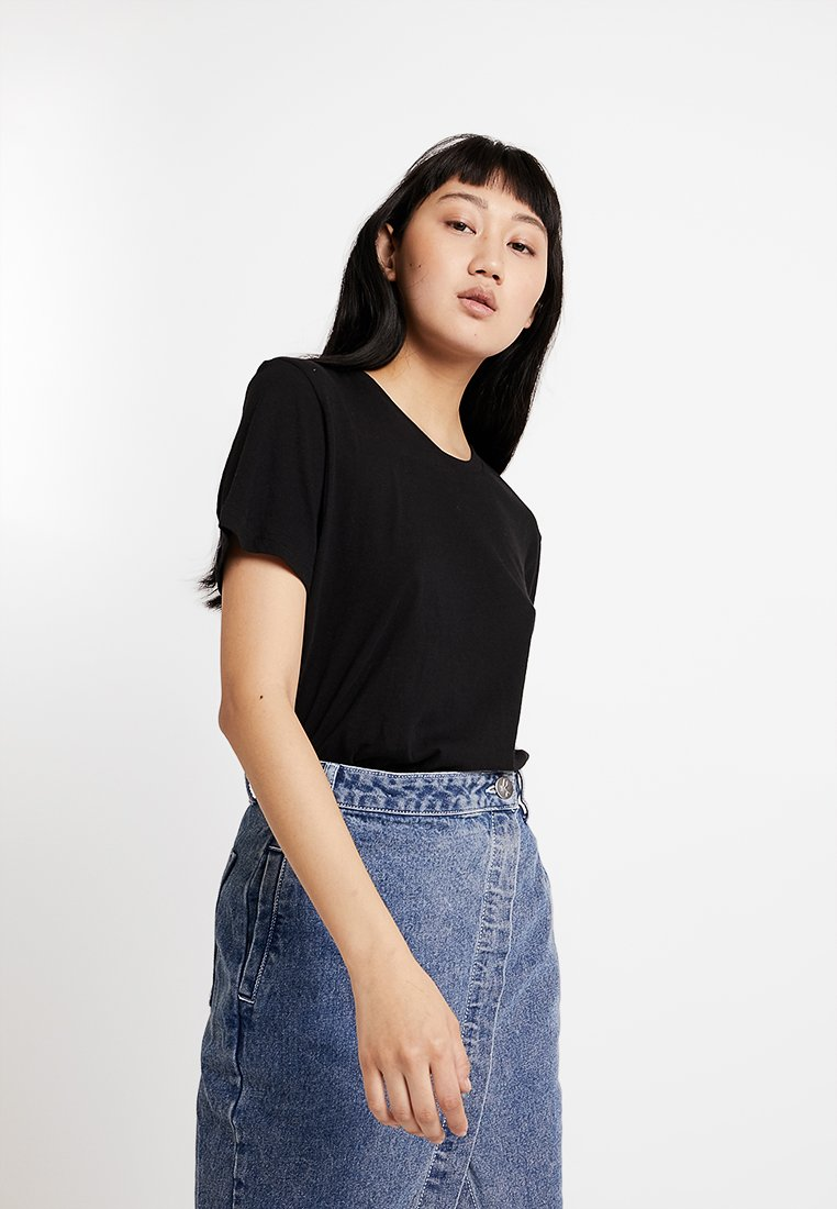 Cheap Monday - STANDARD TEE - Basic T-shirt - black