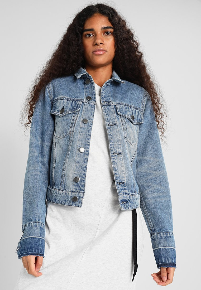 Cheap Monday - RENEW JACKET - Jeansjacka - blue heat