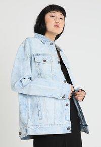 Cheap Monday - UPSIZE JACKET - Denim jacket - blue spider - 0