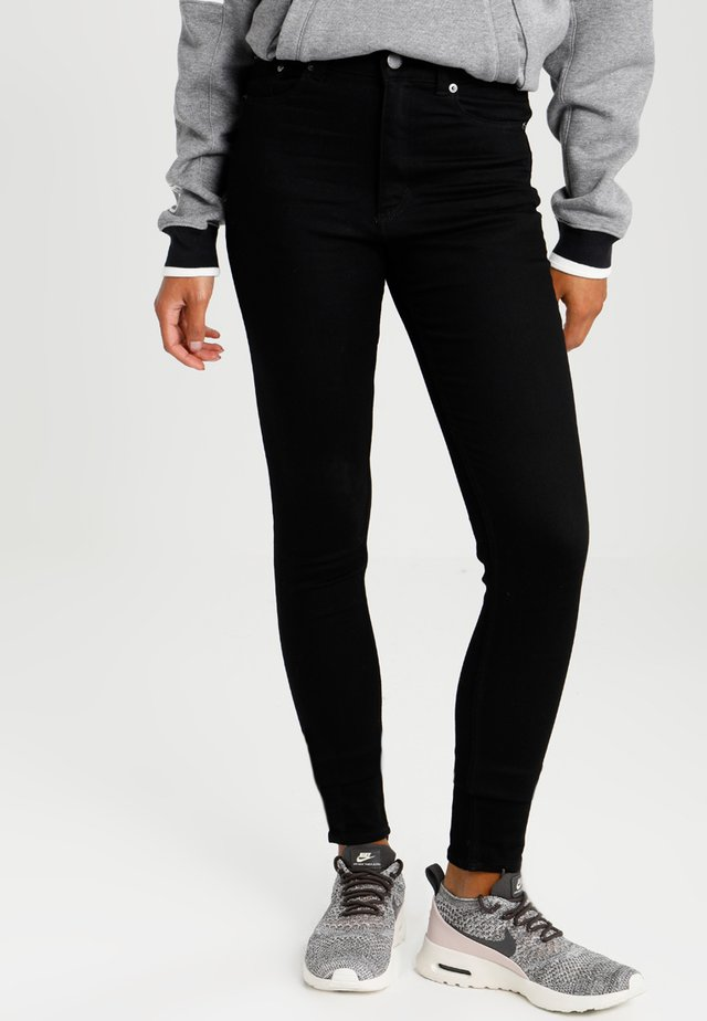 HIGH SKIN  - Jeans Skinny - pure black