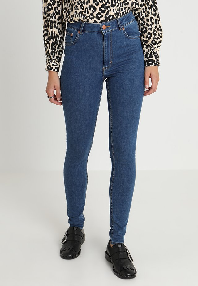 HIGH SKIN - Jeans Skinny - abstract blue