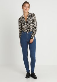 Cheap Monday - HIGH SKIN - Jeans Skinny Fit - abstract blue - 1
