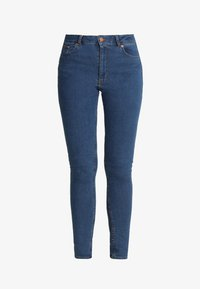Cheap Monday - HIGH SKIN - Jeans Skinny Fit - abstract blue - 4