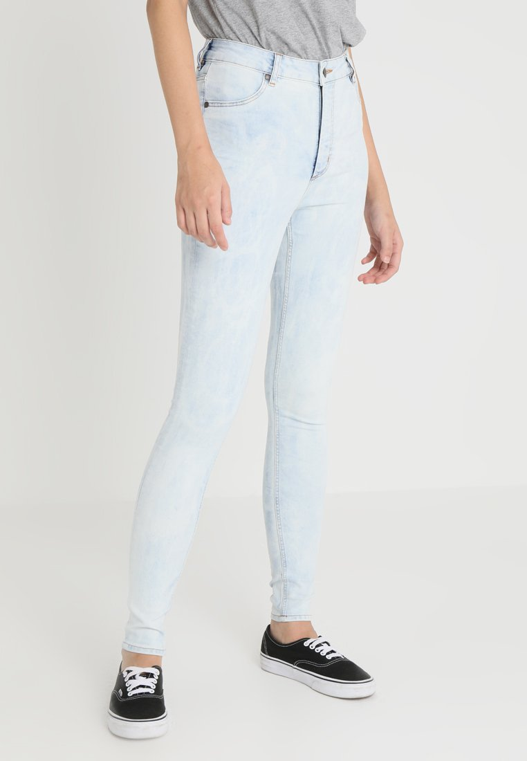 Cheap Monday - HIGH SPRAY - Jeggings - blue spider