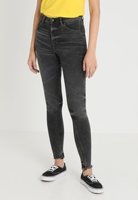 Cheap Monday - HIGH SKIN - Jeans Skinny Fit - black earth - 0