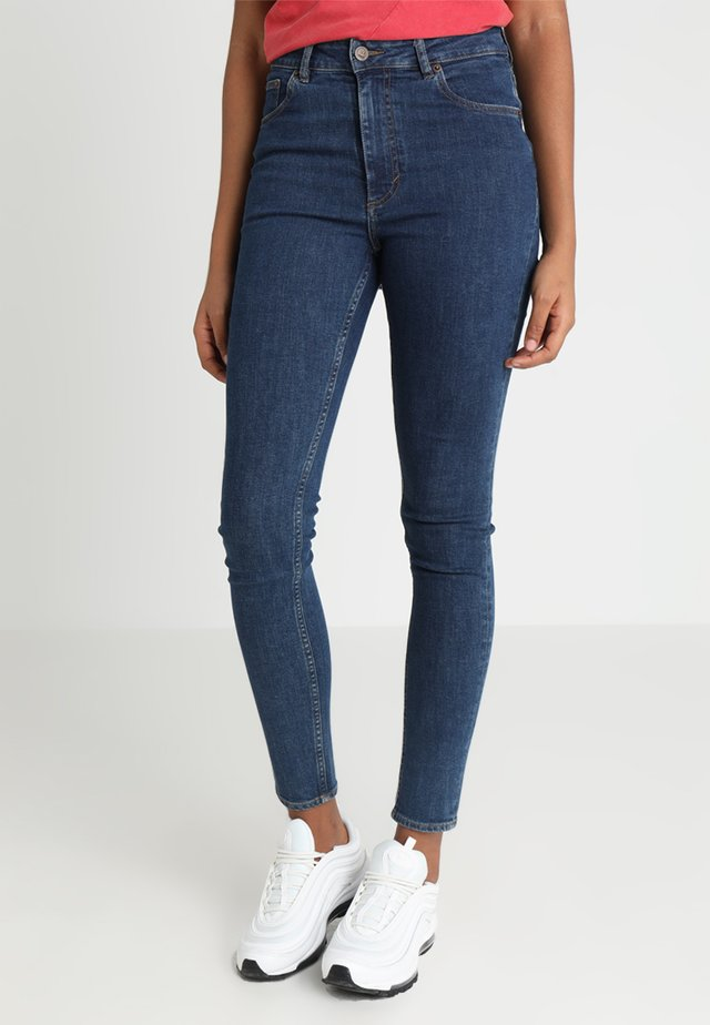 HIGH SKIN - Jeans Skinny Fit - dusk blue