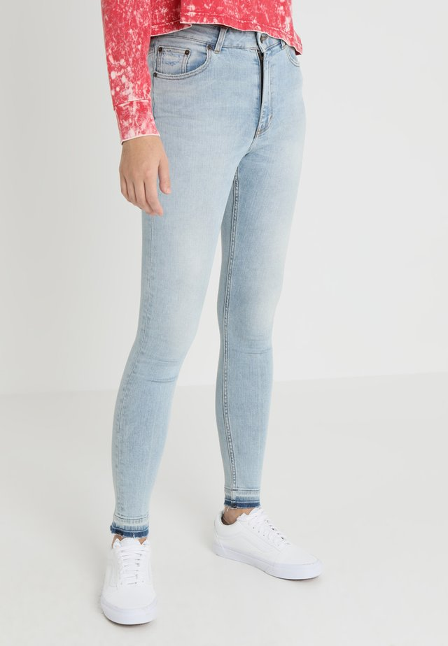 HIGH SKIN - Jeans Skinny Fit - hex blue