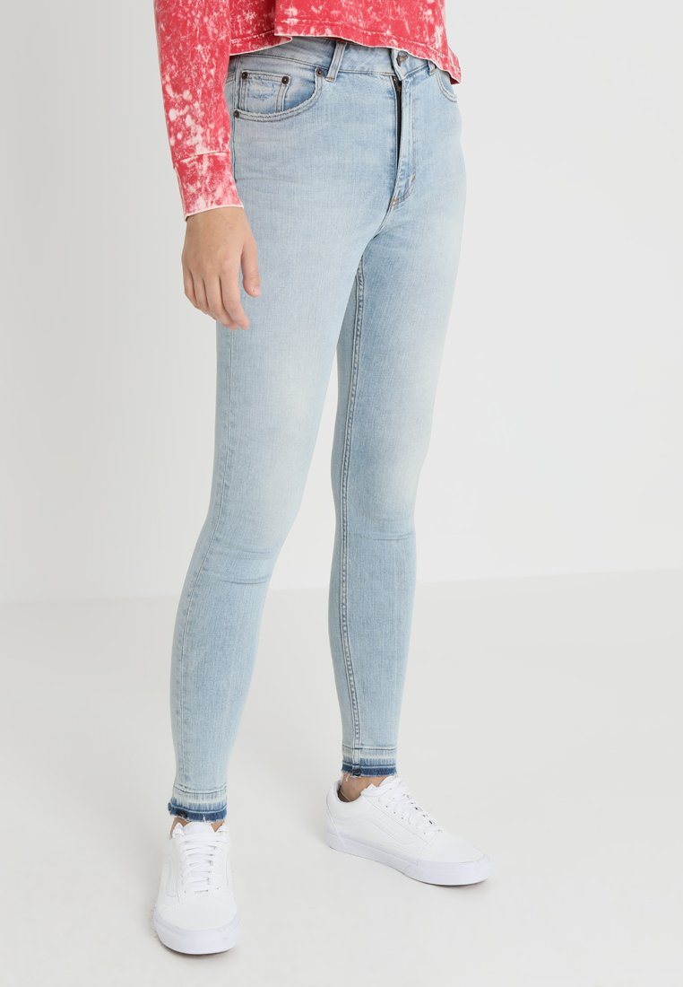 Cheap Monday - HIGH SKIN - Jeans Skinny Fit - hex blue