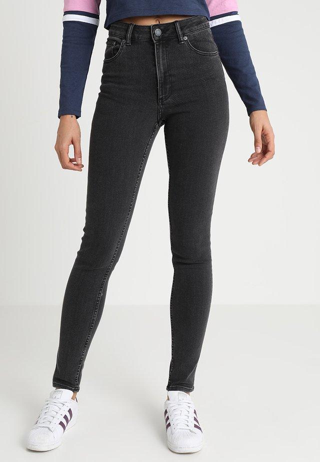 HIGH SKIN - Jeans Skinny Fit - key black