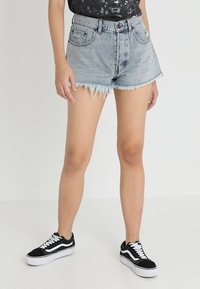 Cheap Monday - SOUND - Farkkushortsit - hex blue - 0