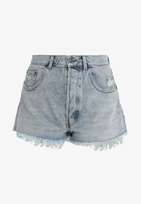 Cheap Monday - SOUND - Shorts di jeans - hex blue - 4
