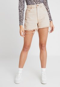 Cheap Monday - DONNA - Shorts di jeans - off pink - 0