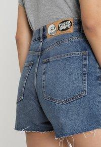 Cheap Monday - DONNA - Shorts di jeans - blue denim - 3