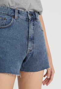 Cheap Monday - DONNA - Shorts di jeans - blue denim - 5