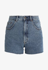 Cheap Monday - DONNA - Jeans Short / cowboy shorts - blue denim - 4