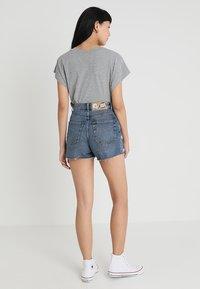 Cheap Monday - DONNA - Shorts di jeans - blue denim - 2