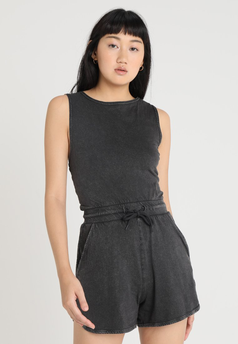 Cheap Monday - SMILE WASHPLAYSUIT - Tuta jumpsuit - black