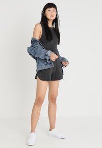 Cheap Monday - SMILE WASHPLAYSUIT - Tuta jumpsuit - black - 1