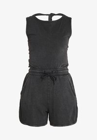 Cheap Monday - SMILE WASHPLAYSUIT - Tuta jumpsuit - black - 5